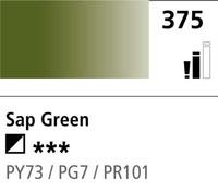 DR Cryla acrylic 75ml 375 Sap green