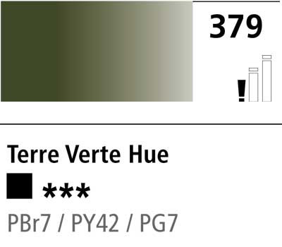 DR Cryla acrylic 75ml 379 Terre verte (hue)
