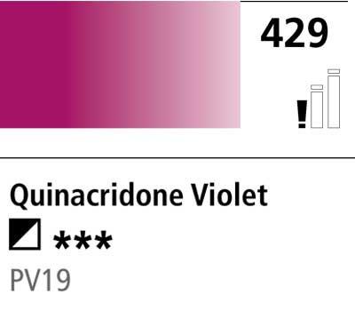 DR Cryla acrylic 75ml 429 Quinacridone violet