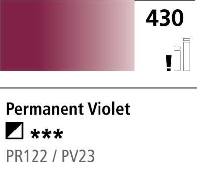 DR Cryla acrylic 75ml 430 Permanent violet(mix)