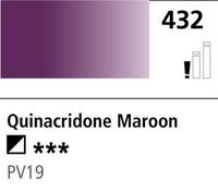 DR Cryla acrylic 75ml 432 Quinacridone maroon