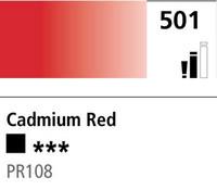 DR Cryla acrylic 75ml 501 Cadmium red