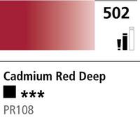 DR Cryla acrylic 75ml 502 Cadmium red deep(hue)