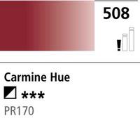 DR Cryla acrylic 75ml 508 Carmine (hue)