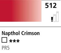 DR Cryla acrylic 75ml 512 Napthol crimson