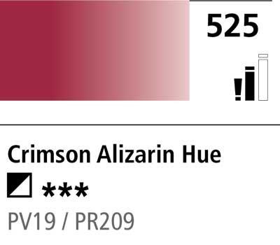 DR Cryla acrylic 75ml 525 Crimson alizarin (hue)