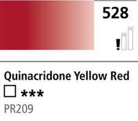 DR Cryla acrylic 75ml 528 Quinaridone yellow red