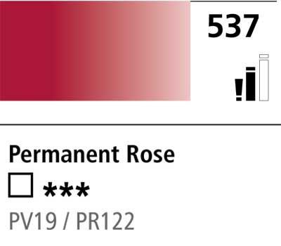 DR Cryla acrylic 75ml 537 Permanent rose