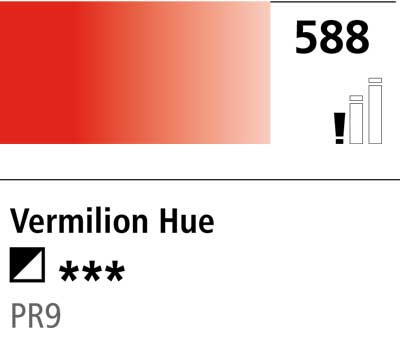 DR Cryla acrylic 75ml 588 Vermilion (hue)