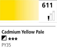 DR Cryla acrylic 75ml 611 Cadmium yellow pale
