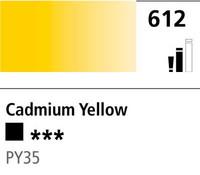DR Cryla acrylic 75ml 612 Cadmium yellow