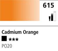 DR Cryla acrylic 75ml 615 Cadmium orange