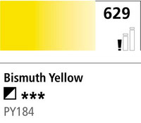 DR Cryla acrylic 75ml 629 Bismuth yellow