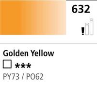 DR Cryla acrylic 75ml 632 Golden yellow