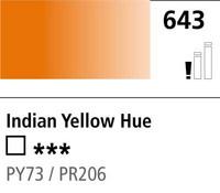 DR Cryla acrylic 75ml 643 Indian yellow