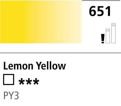 DR Cryla acrylic 75ml 651 Lemon yellow