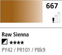 DR Cryla acrylic 75ml 667 Raw sienna