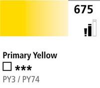 DR Cryla acrylic 75ml 675 Primary yellow