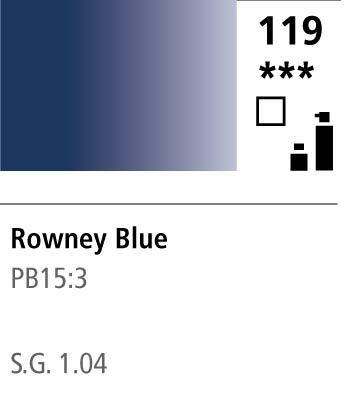 FW Acrylic ink 29,5ml 119 Rowney blue