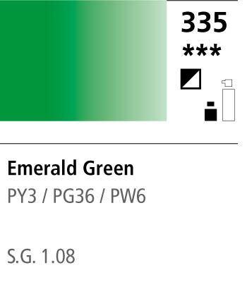 FW Acrylic ink 29,5ml 335 Emerald green