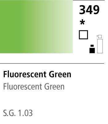 FW Acrylic ink 29,5ml 349 Fluorescent green