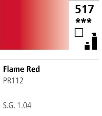FW Acrylic ink 29,5ml 517 Flame red