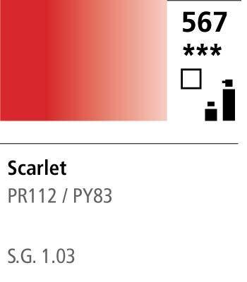 FW Acrylic ink 29,5ml 567 Scarlet