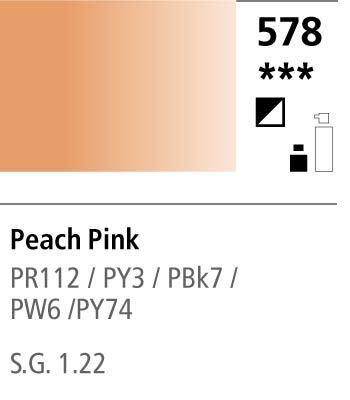 FW Acrylic ink 29,5ml 578 Peach Pink