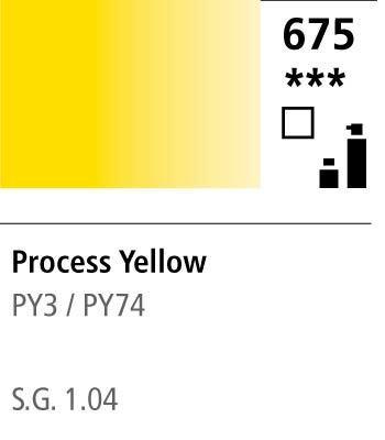 FW Acrylic ink 29,5ml 675 Process yellow