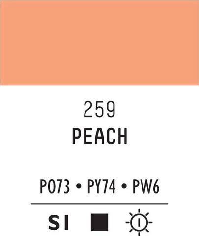 Acrylic Gouache 259 Peach