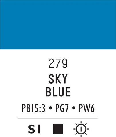 Acrylic Gouache 279 Sky Blue