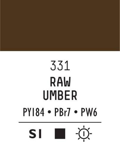 Acrylic Gouache 331 Raw umber