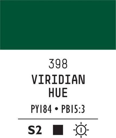 Acrylic Gouache 398 Viridian hue