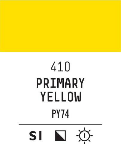 Acrylic Gouache 410 Primary yellow
