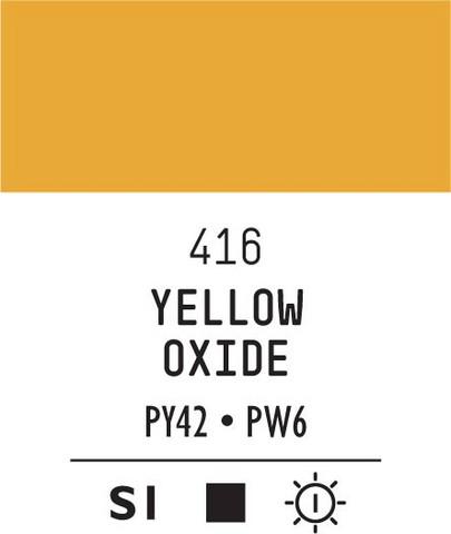 Acrylic Gouache 416 Yellow oxide