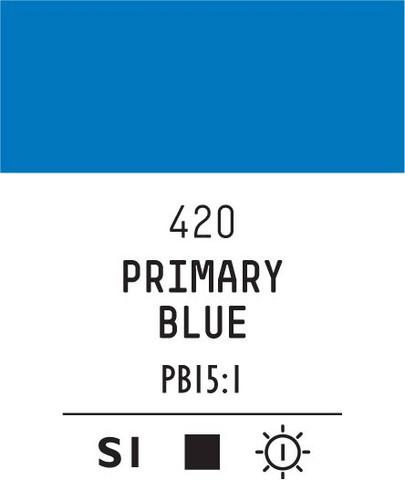 Acrylic Gouache 420 Primary blue
