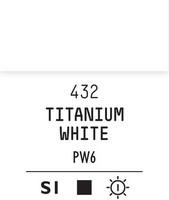 Acrylic Gouache 432 Titanium white