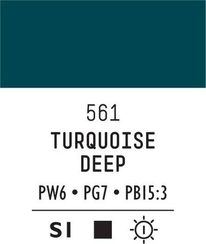 Acrylic Gouache 561 Turquoise deep