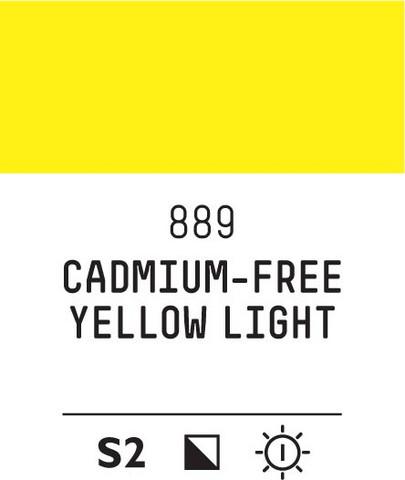 Acrylic Gouache 889 Yellow light (cad. free)