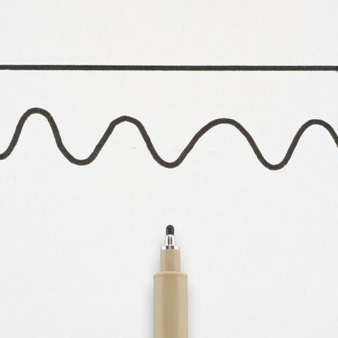 Pigma Micron (12) musta 0,7 mm