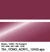 Marabu YONO Marker rose gold 734 1.5-3 mm