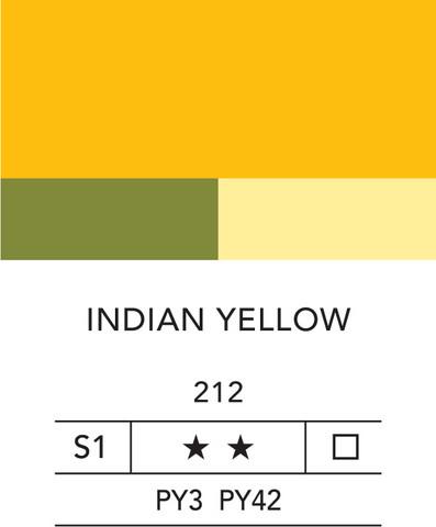 L&B Fine Acrylic 80ml 212 Indian yellow