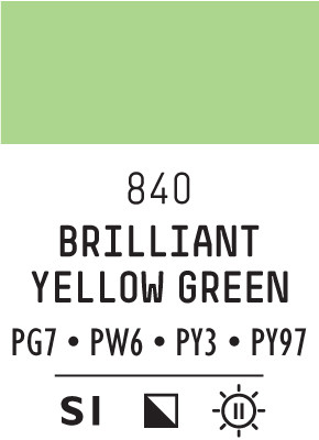 Liq Heavybody 59ml brilliant yellow green 840