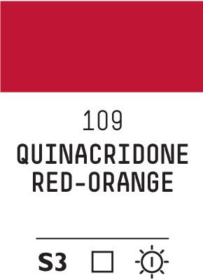 Liq Heavybody 59ml quinagridone red orange 109