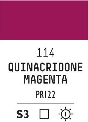 Liq Heavybody 59ml quinacridone magent 114