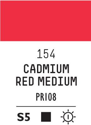 Liq Heavybody 59ml cadmium red medium 154