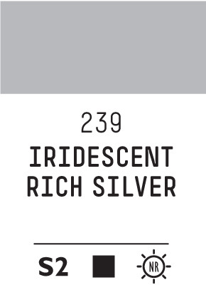 Liq Heavybody 59ml iridescent rich silver 239