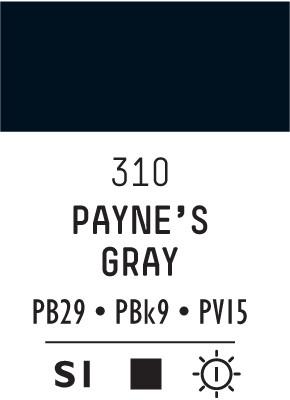 Liq Heavybody 59ml payne gray 310