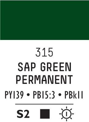Liq Heavybody 59ml sap green permanent 315