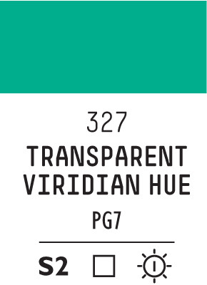 Liq Heavybody 59ml transparent viridian hue 327